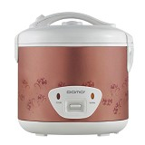 DOMO Rice Cooker [DR 1802 P] - Pink / Purple Flower - Rice Cooker